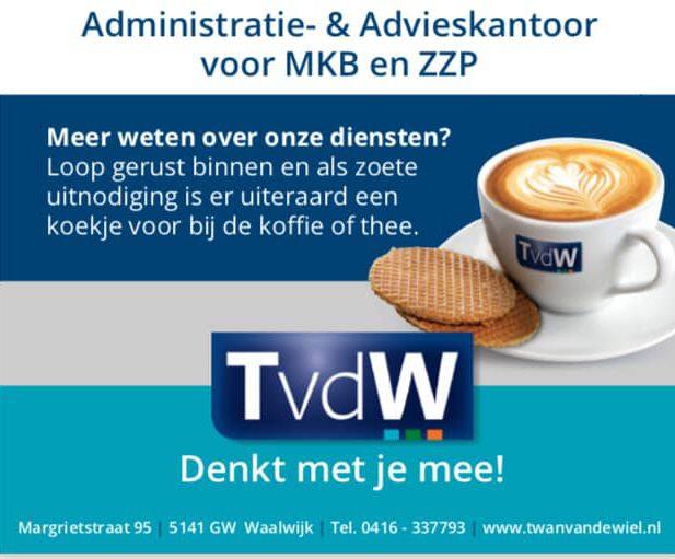 Twan van de Wiel Administratie en Advieskantoor MKB ZZP Waalwijk TvdW