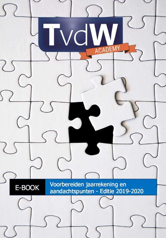 Ebook TvdW Waalwijk 2019 - 2020 TvdW Academy Waalwijk